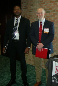 Dr. Linkous and Stephen Rhoden