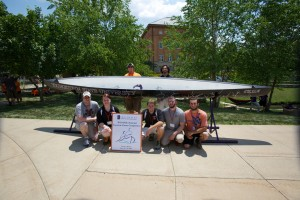 Concrete Canoe at Nationals